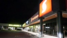 Cierra Childress, who escaped from an Edmonton prison Sept. 16, was arrested Friday night outside this strip mall in southeast Calgary without incident