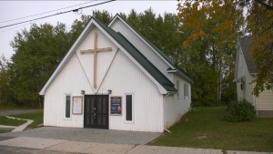 The Porcupine United Church, located in Porcupine, east of Timmins, is selling its pews to anyone who might be interested in having one.  Church officials want to create space and make the church more user-friendly for the rest of the community, especially seniors. Sept.25/20 (Lydia Chubak/CTV News Northern Ontario)