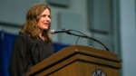 Judge Amy Coney Barrett, a federal appellate judge and Notre Dame law professor, is a proven conservative with a compelling personal story who has long been atop U.S. President Donald Trump's Supreme Court short list. (Robert Franklin/South Bend Tribune via AP)