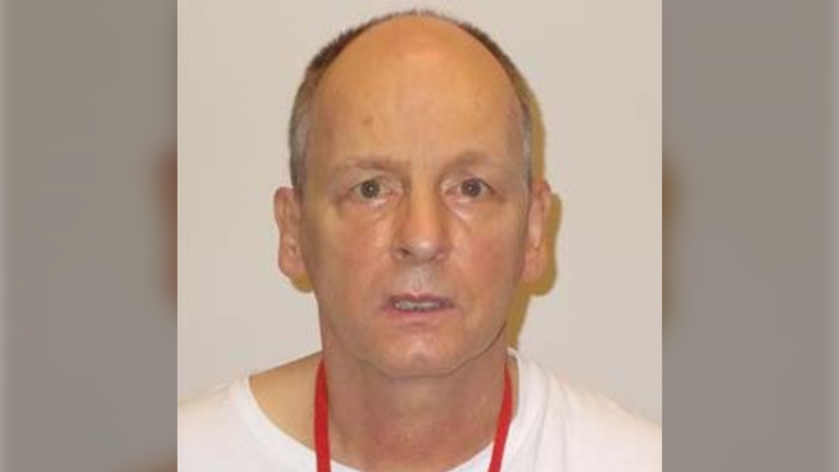 Scott Jones, 56, is wanted on a Canada-wide warrant for being unlawfully at large, Victoria police said in a news release Friday night. (Victoria Police Department)