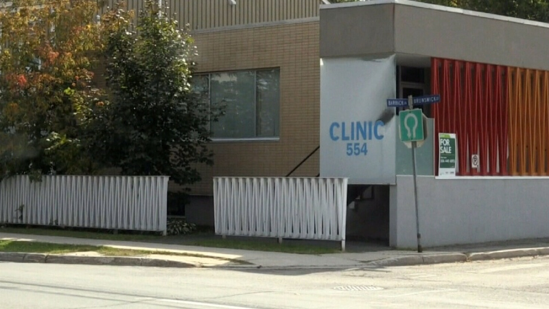 Protest over Fredericton abortion clinic closing
