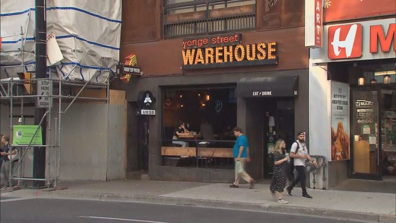 Yonge Street Warehouse is seen in this undated photo.