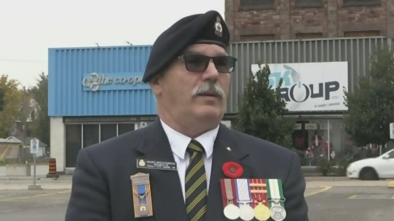 Sault's Remembrance Day service to scaled-back.