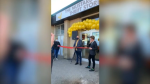 Ribbon cutting for the Mustard Seed Thrift Store in Edmonton on Sept. 26, 2020.