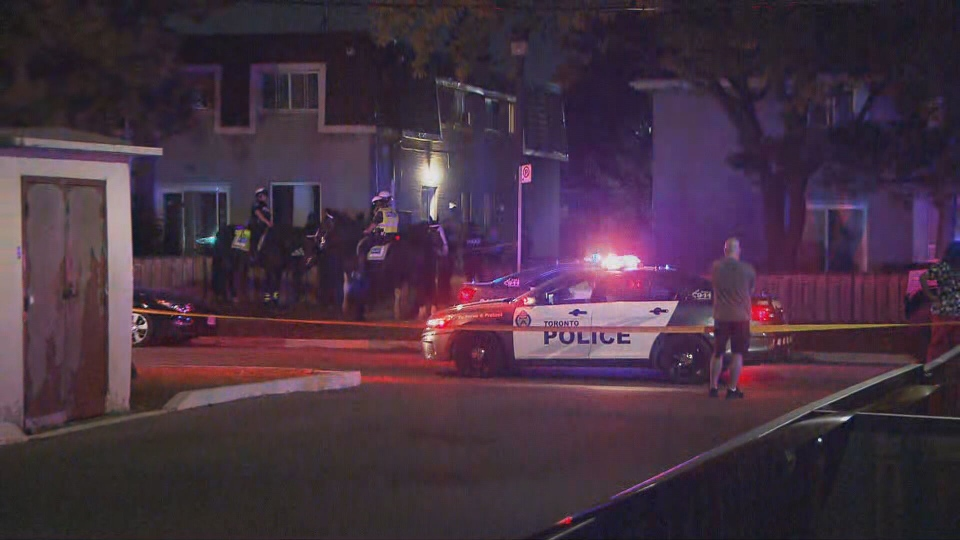 Toronto police are investigating a triple shooting near Jane and Sheppard in North York.