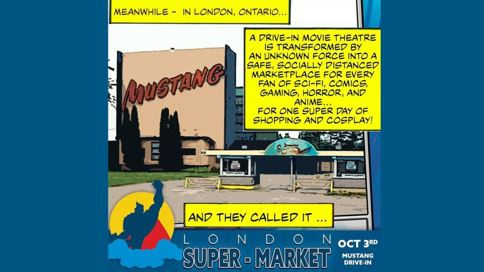 The London Super-Market, October 3, 2020