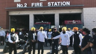 Sikh Motorcycle Club honours front-line workers, September 26, 2020 (Reta Ismail / CTV News)