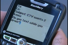 Texting behind the wheel is against the law, dangerous, but frequently done.