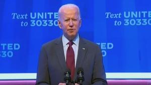 Joe Biden reacts to U.S. Supreme Court nominee