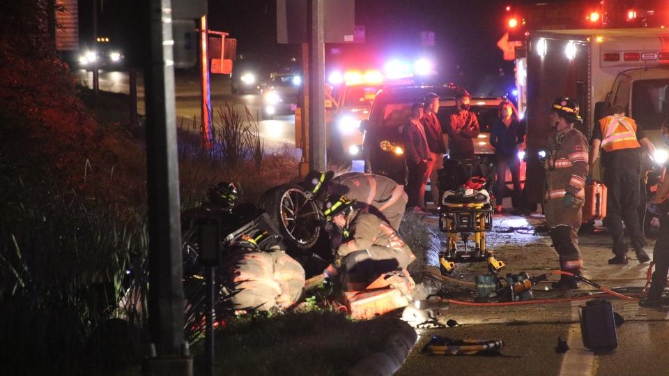 Roll-over crash kills driver Sept. 27.