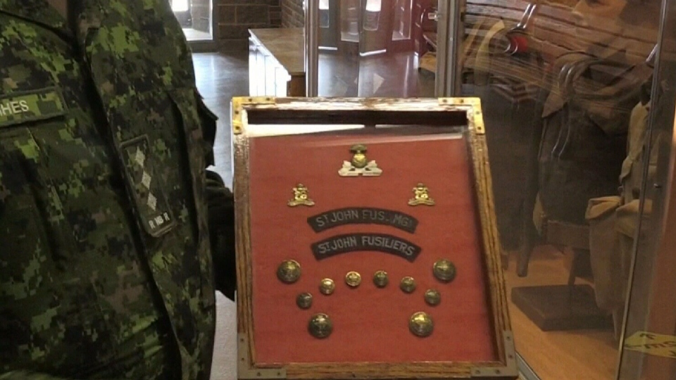 Royal N.B. Regiment celebrates 250 years