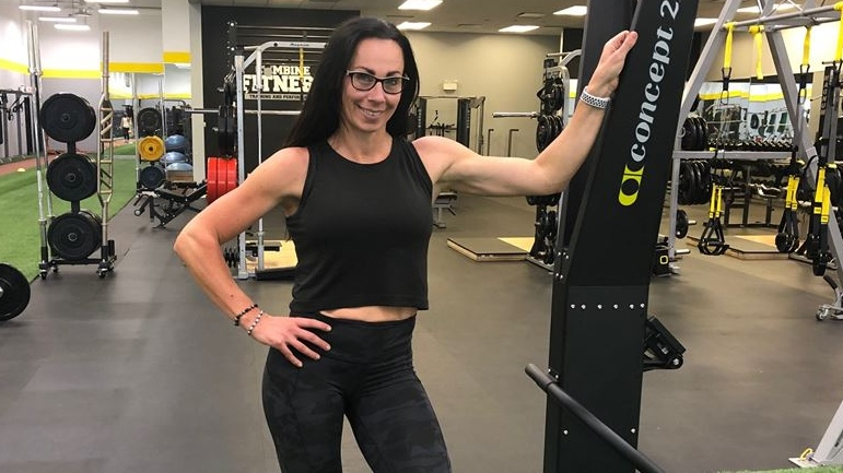 Jennifer Summerfield, Ms. Health and Fitness 2020 contestant on Sept. 27, 2020. (Jordyn Read/CTV London)