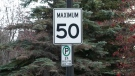 Speed limit changes are coming to most residential and collector roads in Calgary on May 31. (file)