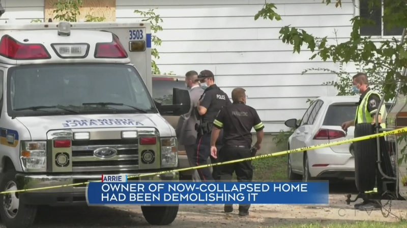 77-year-old man killed in house collapse