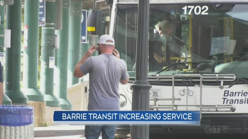 Barrie Transit bumps up service