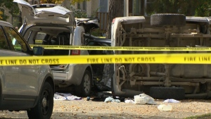 One dead, several injured in North End crash