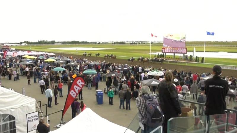 The Canadian Derby returns to the Century Mile racetrack. Sunday Sept. 27, 2020 (CTV News Edmonton)