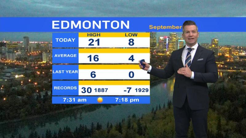 Sept. 28 morning forecast