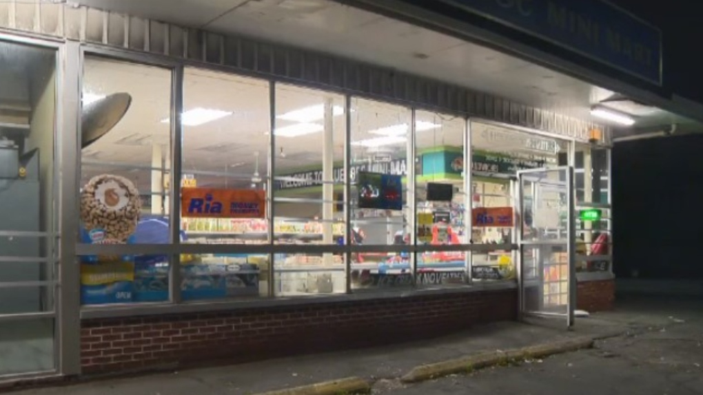 armed robbery at Bluenose Mini Mart