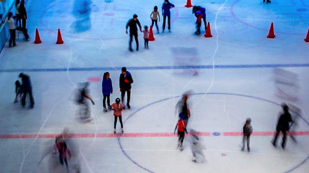 Time-lapse photography of people ice skating. (Jimmy Chan/Pexels)