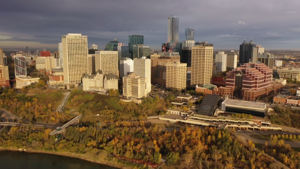 Downtown Edmonton, September 2020
