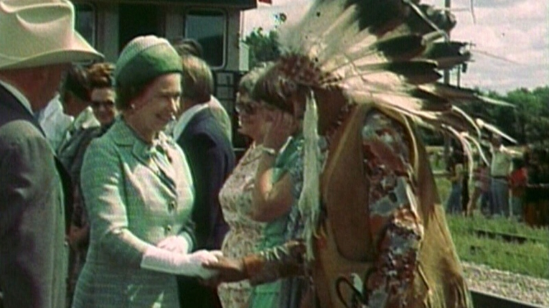 Archive: Queen Elizabeth visits Saskatchewan