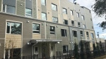 This building in Edmonton's Belvedere neighbourhood is ready to welcome residents to its 42 units on Oct. 1, 2020. (Darcy Seaton/CTV News Edmonton)