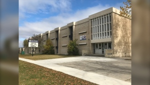 John W. Gunn Middle School (CTV News Photo Mike Arsenault)