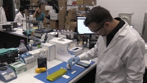 Sona Nanotech is the only company in Canada to come up with this technology. (CTV ATLANTIC / NATASHA PACE)