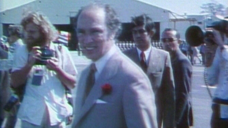 Archive: Trudeau family visits Cuba in 1976