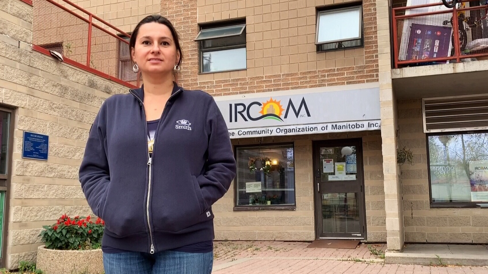 Dorata Blumczyńska, the executive director for the Immigrant and Refugee Community Organization of Manitoba. (Source: Michael D'Alimonte/ CTV News Winnipeg)