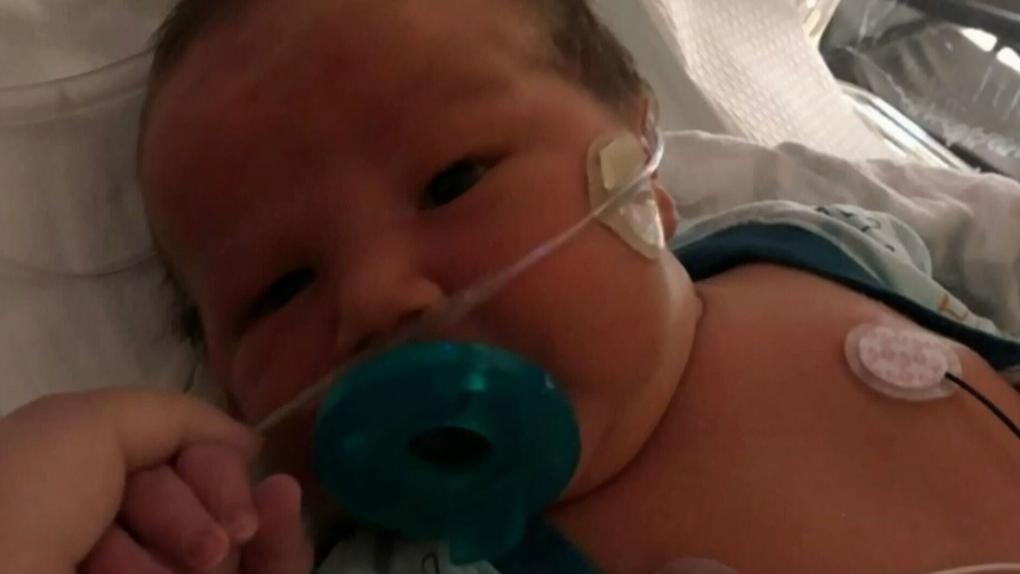Covid 19 Concern Separates Mom Newborn Ctv News