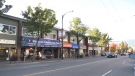 Abruzzo Cappuccino Bar on Vancouver's Commercial Drive is seen on Sept. 28, 2020.