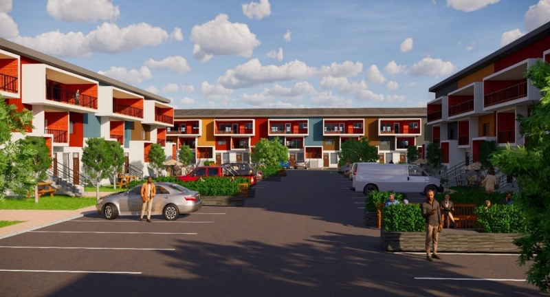 affordable housing development for Blairmore