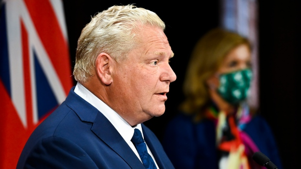 Doug Ford announcement live
