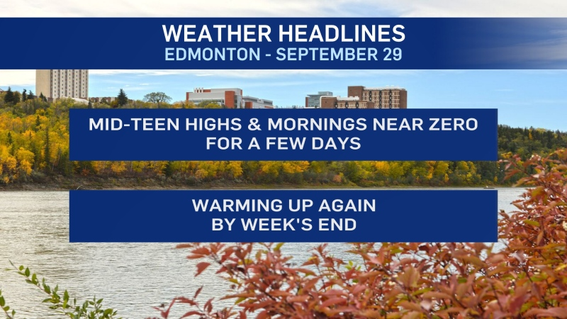 Sept. 29 weather headlines