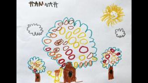 Hannah Racicot, 5 years old, Senior Kindergarten, École Jeanne-Sauvé