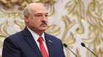 Belarusian President Alexander Lukashenko attends his inauguration ceremony at the Palace of the Independence in Minsk, Belarus, Wednesday, Sept. 23, 2020. (Maxim Guchek/Pool Photo via AP)