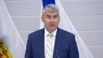 Premier Stephen McNeil apologizes to Black and Indigenous Nova Scotians for systemic racism in the province's justice system during an announcement in Halifax on Sept. 29, 2020.