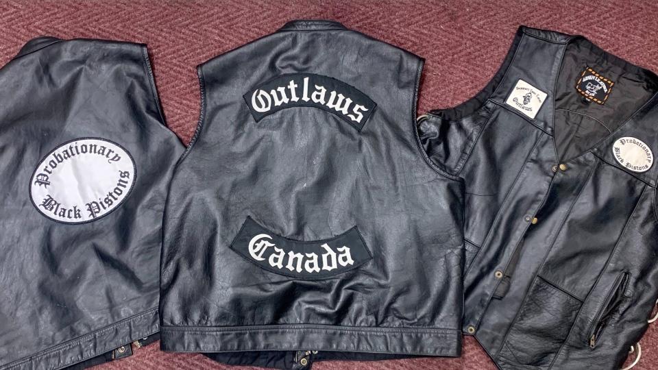 motorcycle gang clothing