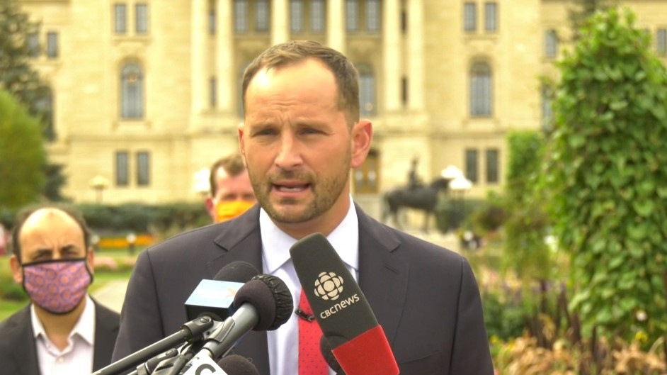 Saskatchewan NDP leader Ryan Meili kicked-off the party's provincial election campaign on Tuesday, pledging investments in health care and schools should they be elected government. (CTV Regina)