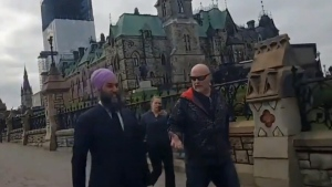 Singh accosted