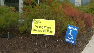 Election Day in Cumberland ward is Monday Oct. 5, 2020. (Katie Griffin / CTV News Ottawa)