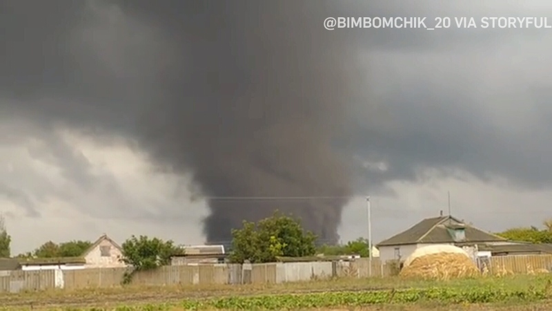 Tornado damages more than 300 buildings in Ukraine