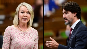 Trudeau, Bergen face off over COVID-19 response