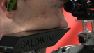 Chris Baldwin practices in Langton, Ont. on Monday, Sept. 28, 2020. He has his sights set on 2024 Olympics. (Brent Lale / CTV News)