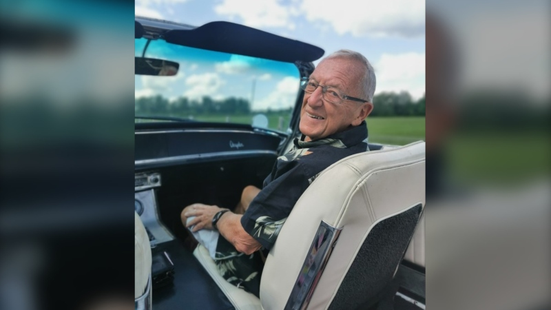 A photo of 87-year-old Louis Cauz who hasn't been seen since Monday, September 28, 2020 (Courtesy: OPP)