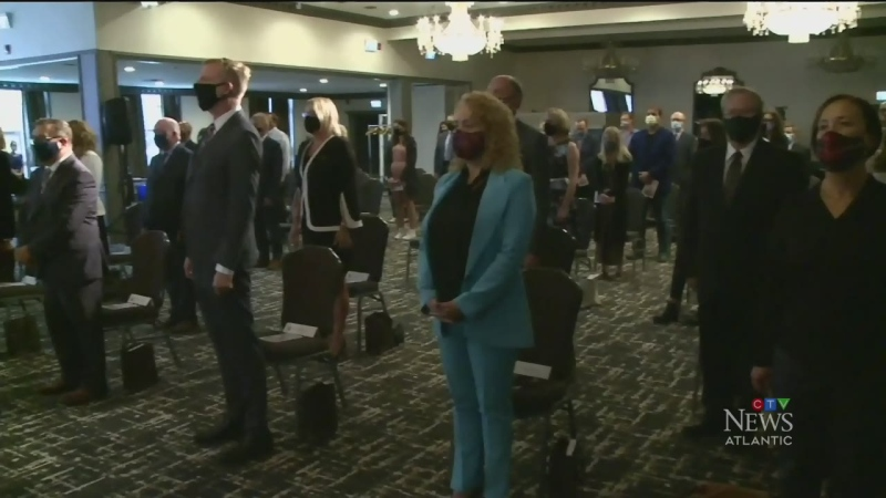 New Brunswick cabinet sworn in