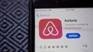 Airbnb suspended or removed 45 'party house' listings in Alberta on Nov. 25 (file)