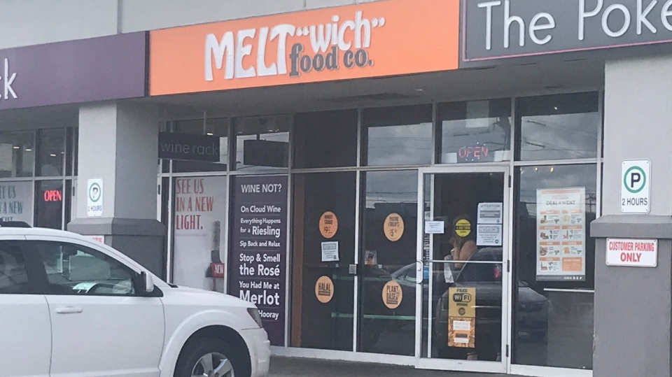 Public health officials have fined Meltwich for failing to comply with COVID-19 regulations (Dan Lauckner / CTV News Kitchener)